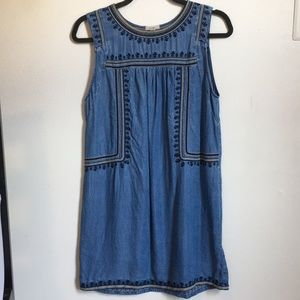 Urban Outfitters Denim Shift Dress